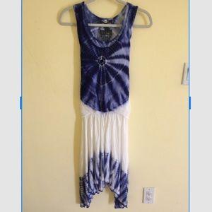 Young Fabulous & Broke Tye-Dye dress XS ❤️👑